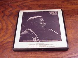 1969 Rod McKuen at Carnegie Hall Reel to Reel to Reel Tape, no. 1794 image 2