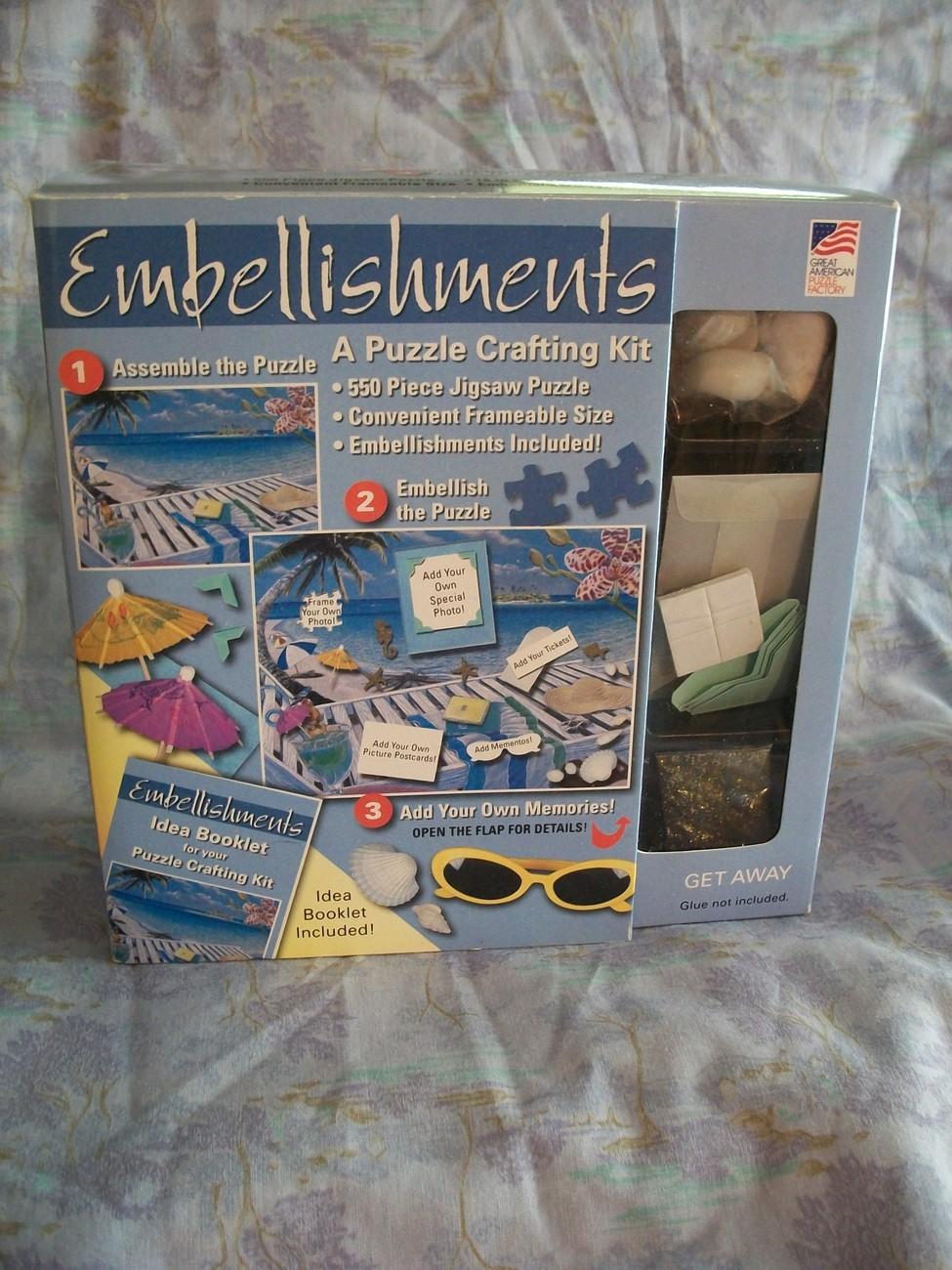 Puzzle Crafting Kit - NIP