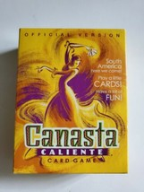 Canasta Caliente Card Game Hasbro 2001 Complete Official Version - $17.78