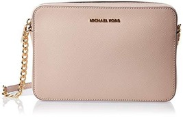 MICHAEL Michael Kors Women's Jet Set Cross Body Bag (Soft Pink) - $157.12