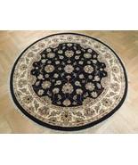 6' ROUND JAIPUR 10/10 QUALITY Handmade  RUG 6x6 feet Carpet - $525.15