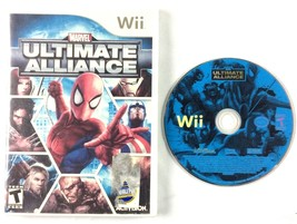 Marvel Ultimate Alliance Nintendo Wii 2006 Tested and Working No Manual - $9.85