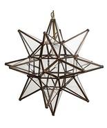 Glass Star Lights - 18 Inch Moravian Star Light Clear - $186.78