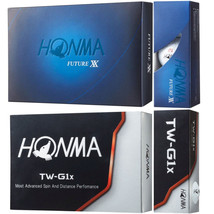 "HONMA Golf HONMA Ball ""FUTURE XX"" & ""TW-G1x"" 2 dozen - $100.44"
