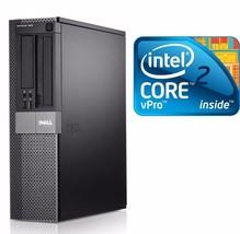 Dell Optiplex PC COMPUTER DESKTOP C2D 4GB Ram 500GB HD NO OS - $93.48