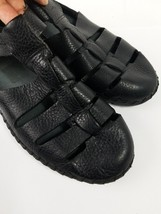 Mens Dexter Comfort DexFlex Sandals Black Size 8.5 Shoes - $27.12