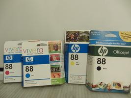 Hp 88 4 color ink set - $21.75