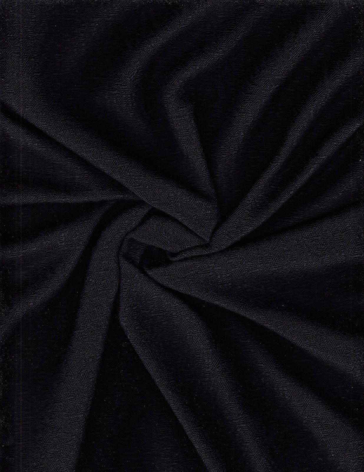 7 yds Geiger Upholstery Fabric Wool Texture Terrain Night Sky Black CA-c7