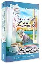 Crosswords and Chamomile by Elizabeth Adams - Guideposts Tearoom Mysteri... - $14.35
