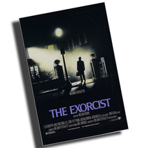 1973 The Exorcist Movie Poster Reproduction 8x12 Inch Aluminum Sign - $14.80