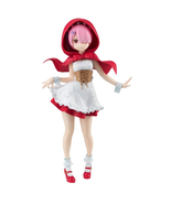 Re Zero Starting Life in Another World Ram Red Hood SSS Figure Japan F/S... - $36.03
