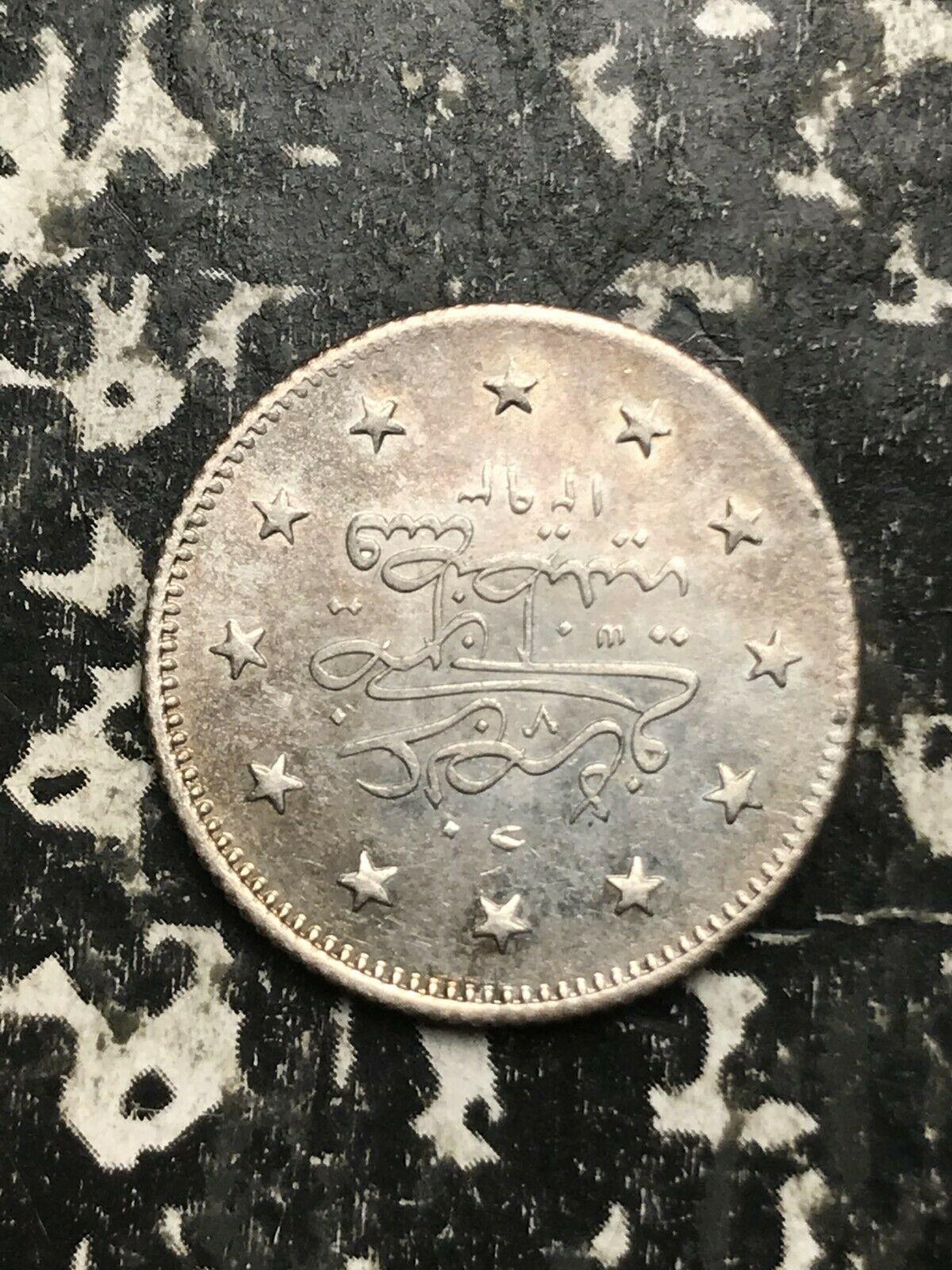 Ah 1293 Yr. 29 (1903) Tacchino 2 Kurush Lotto #L4209 Argento! Alto Grado !