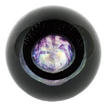 Pluto Paperweight Glass Eye Studio Celestial Series New Art Decor NIB 511 - $119.95