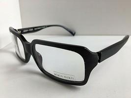 New Vintage ALAIN MIKLI AL 1028 0001 57mm Black Eyeglasses Frame - $399.99