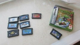 Gameboy Advance Used Game Bundle of 8 games from 2001-2003 - $35.64