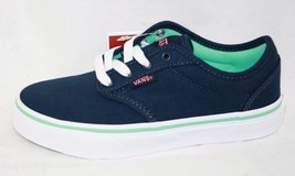 Vans Atwood Youth Girls Causal Canvas Shoe (Dress Blue) - $29.71