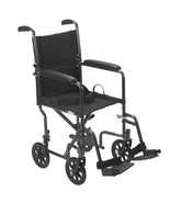 Drive Medical Lightweight Wheelchair Fixed Arms 19'' - $107.95