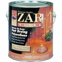 1 Gallon Zar Ultra Clear Gloss Oil Based Polyurethane 32813 United Gilsonite Lab