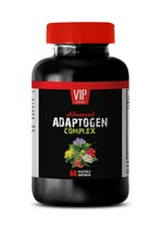 natural anxiety supplement - Advanced Adaptogen Complex - stress relief pills 1B - $14.92