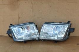 07-10 Lincoln MKX Halogen W/ AFS Headlight Lamp Set L&R  - POLISHED