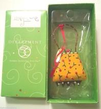 Dept. 56 Lollysticks Ornament Purse Handbag By Kim Kym Bowles NEW Department - $6.99