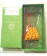 Dept. 56 Lollysticks Ornament Purse Handbag By Kim Kym Bowles NEW Depart... - $6.99