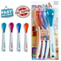 Munchkin White Hot Infant Safety Spoons, 4 Count - $10.88