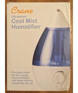 Crane Ultrasonic Cool Mist Humidifier 1 Gallon / 3.78 Liter EE-5301 - $39.99