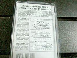Micro-Trains Stock # 00311002 Roller Bearing Truck Sample Pack Short, Med, Long  image 3