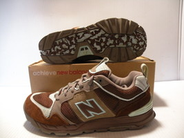NEW BALANCE 016  IDENTITY SNEAKERS WOMEN SHOES BROWN/BLUE *016BTC SIZE 8... - $89.09