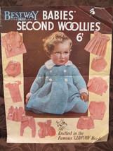 Vintage Knitting Patterns BABY Woollies Rompers Knickers Sun Suit Coat B... - $7.99