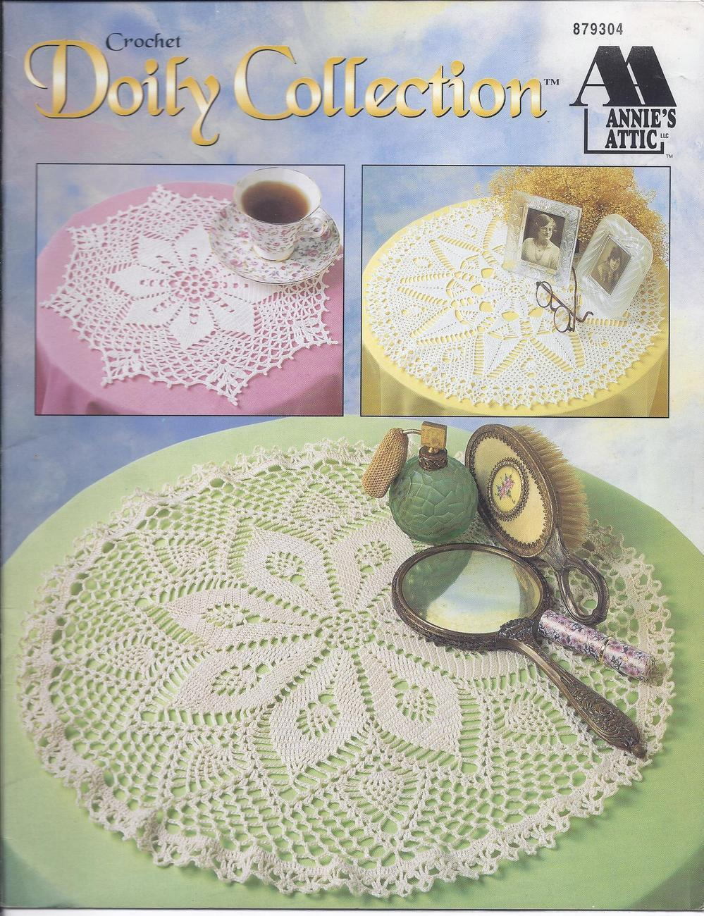 Annie's Doily Collection Crochet Pattern~6 Designs