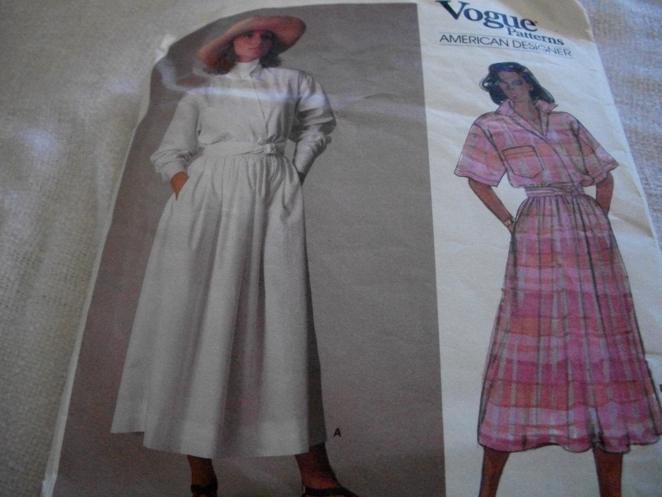 Woman's Top & Skirt Pattern Vogue 1548 Ralph Lauren