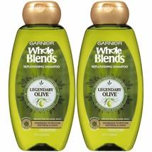 2 Pack Garnier Replenishing Shampoo & Conditioiner Legendary Olive, For Dry Hair - $19.80