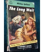 Mickey Spillane The Long Wait 1st edition - $2.98