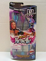 Hasbro Nerf Rebelle Arrow Refill Secrets & Spies Whistle Agent Bow 3X - $9.90