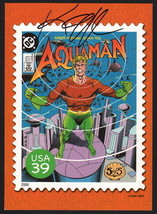 Keith Giffen 2006 Aquaman USPS  Super Heroes Stamp Post Card / Curt Swan... - $15.83