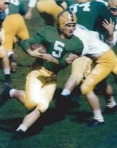 PAUL HORNUNG 8X10 PHOTO GREEN BAY PACKERS NFL FOOTBALL OLD HELMET - $3.95