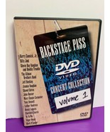 Backstage Pass Concert Collection Volume 1 (DVD, 2000) - $5.93
