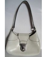 Authentic Prada Handbag - White Cream Leather BR1252 - $275.00