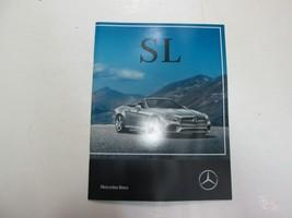 2017 Mercedes Benz Sl Class Sales Brochure Manual Factory Oem Book 17 Deal - $11.75
