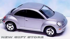 KEY CHAIN SILVER PEWTER VW NEW BEETLE VOLKSWAGEN BUG VOLKSWAGON LTD EDIT... - $38.98