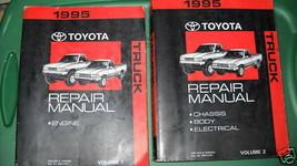 1995 Toyota Truck Pick Up Service Reparatur Werkstatt Shop Manuell Set Neu - $237.54