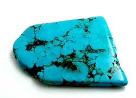 Blue Turquoise Rough Beautiful Uncut AAA+Quality 276 Cts Loose Gemstone>4 - $22.31