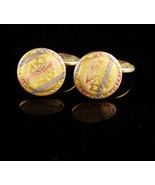 Antique Blackhills gold Cuff links Victorian Talon Grip Trade Mark Cuffl... - $245.00