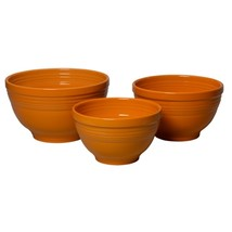 Fiesta 3 Piece Baking Bowl Set Tangerine  - €225,70 EUR