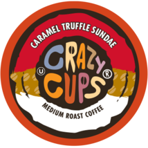 Crazy Cups Caramel Truffle Sundae Flavored Coffee 22 to 110 Kcups Pick Any Size - $24.99+