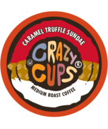 Crazy Cups Caramel Truffle Sundae Flavored Coffee 22 to 110 Kcups Pick A... - $24.99+