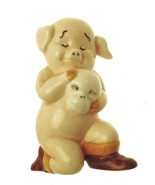 Danbury Mint Pig Ornament Piggies collection Ham-let Shakespeare Ornament - $25.77
