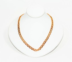 """Sturdy Showstopper Mens 20"""" 14kt Yellow Gold Italian Mariner Chain Necklace - $1,441.24"""
